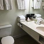 バスルーム洗面台、トイレは流すのにコツのいる部屋もあるので注意!;^_^A