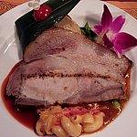 メインのお肉料理。お肉がやわらかくてとっても美味しかったですよ~(^-^)