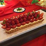 イチゴのタルト、デザートのなかで重めがコレ