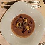 ベッラノッテコースのスープ