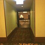 部屋の前の廊下です!