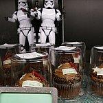 ダースベイダー卿のチョコレートカップケーキ!食べてしまうのは畏れ多いです…