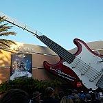 朝もやの中、穏やかに見えるギター。この中で何が起こっているかは知る由もない・・・。