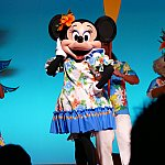 ミニーちゃんはイエロー!みんなテーマカラーがあります!