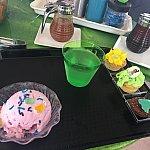 アイスドリンクカップケーキがティアナ仕様