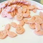キャラクタークッキーは毎回数種類も入れ替わるので何種類あるか不明!!可愛い〜💓