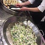 生煎と咸肉菜饭。