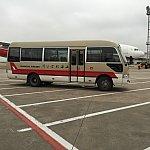 虹橋空港へ到着!バスで空港まで移動します