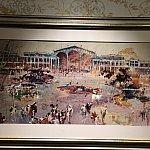 こちらもショップ前の廊下に飾られていた東京ディズニーのコンセプトアート。