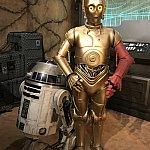 R2-D2とC-3POのグリ