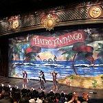 後半の動きメインのショーが展開される舞台。