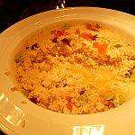 ホタルイカと空豆のリゾット(ランチ限定)。