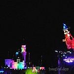 くっきりとは撮れていませんが、ミッキーとお城を一緒に入れることもできました!