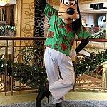クリスマスショー衣装のグーフィー