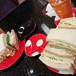 サンドイッチ。色んな味があります。