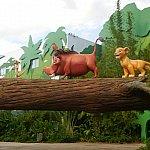 リトル・マーメイドエリアまではライオン・キングエリアを通っていきます