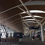 春秋航空の香港便は上海浦東空港T2出発のみ。