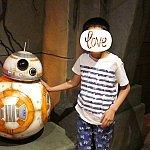 BB-8には触ってもOK