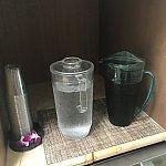 緑茶とピーチ🍑🍵味のデトックスウォーターを飲みました♪