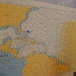 航海図です。