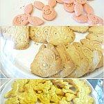 お昼と夜はクッキータイム!可愛いクッキーがたくさん!