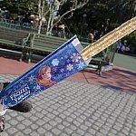 2015年バニラシュガーのチュロス 310円。アナとエルサのフローズン・ファンタジー限定