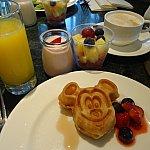 朝食のジュースとヨーグルトがすごく美味しかった~っ❤