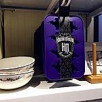 左はボウル皿、紫色のグッズは製氷機で、コウモリ型の氷が作れます。製氷機は$9.95。