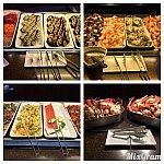 魚料理は、刺身から手巻き、蟹、海老、帆立などとっても種類が豊富でした!