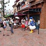 ドナルドとデイジーのダブルグリは大人気!