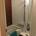 部屋のお風呂。綺麗でしたー。