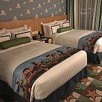 ベッドです。トイストーリーのみんながいてとても可愛い!
