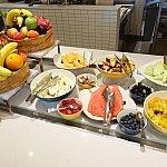 【朝食】カットフルーツが豊富!