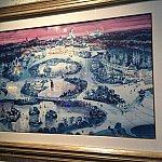 こちらは冬のディズニーランドパリをイメージした1枚