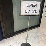 成田優先レーンは7:30オープン