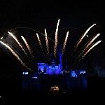 Disney in the Stars Fireworks - Sleeping Beauty Castle in Hong Kong