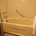 お風呂は浴槽も洗い場もひろびろ