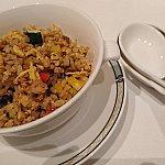 牛挽肉とズッキーニのカリー炒飯
