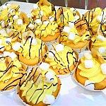 可愛いバナナのカップケーキや、