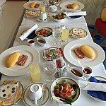 朝食のルームサービスです!美味しかった♪