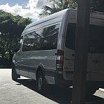 アウラニに停車中のスピーディーシャトルです。