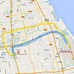 黄色ルートを実際に走りました。青ルートが正しいと思うんですけどねぇ?(^_^;)