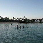 2011.09  早朝より海水浴されてる方達がいらっしゃいました♪