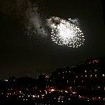 宿泊したお部屋からはギリギリ窓を覗き込めば花火が見えました!