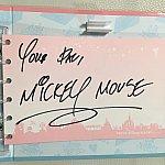 香港のミッキーは必ず YOUR PAL(君の友達)と書き添えてくれますね(*^_^*)