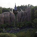 ここはラプンツェルのテーマのお庭