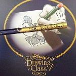 素敵な台紙と鉛筆。鉛筆はドローイングクラス専用です。