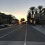 セブンイレブンからホテルへ(徒歩)