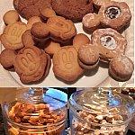 ベッドタイムストーリーの時間は、こちらのクッキーがあります♪クッキーも全部おいしくてたくさんパクパクたべちゃいます(^^)