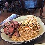 友達は牛肉とご飯を副菜にしていましたが、完食していました。